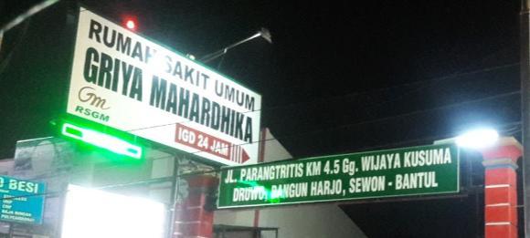 RS Umum Griya Mahardika Yogyakarta