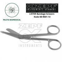 LISTER Bandage Scissors Kode 08-9001-14