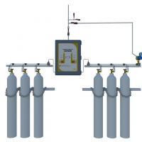 FRES SISTEM MEDICAL GAS MANIFOLD, HEADER 2X3, PIGTAIL (O2 /N2O/ N2/ CO2)