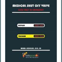 Medical Shut Of Valve 2 Gas