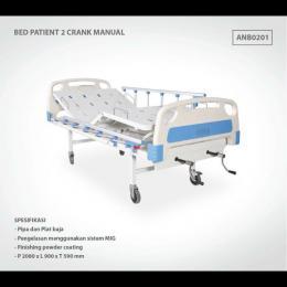 BED PATIENT 2 CRANK MANUAL ABS