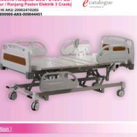 Tempat tidur / Ranjang Pasien Elektrik 3 Crank