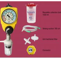 PAHSCO VACUUM (SUCTION) REGULATOR 0-760 MMHG (ADULT / DEWASA) FULL SET WITH REUSABLE COLLECTION BOTTLE H06415 (1500 ML) AND ACCECORIES