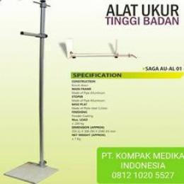 Stadiometer, Staturemeter SAGA AU - AL 01 Kompak Medika Supplier