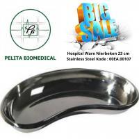 Hospital Ware Nierbeken ±23cm Stainless Steel Kode : 00EA.00107