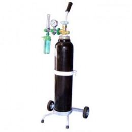 Tabung Oksigen 1 set + Regulator + Trolley