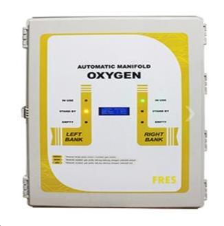 FRES SISTEM MEDICAL GAS MANIFOLD, HEADER 2X5, PIGTAIL (O2 /N2O/ N2/ CO2)