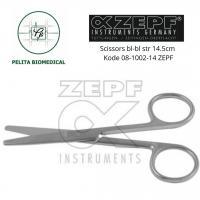 Scissors bl-bl str 14.5cm Kode 08-1002-14 ZEPF