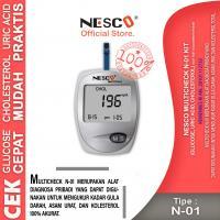 Multicheck N01 Kit (Cek Gula Darah, Asam Urat & Kolesterol)