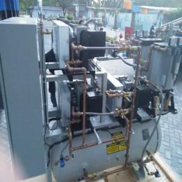 MEDICAL AIR COMPRESSOR BUILD UP SYSTEM TRIPLEX 5 HP