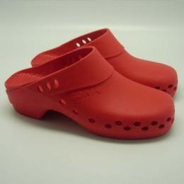 Comfy Antistatic Clog Red Size 38-39 Comfy Clogs