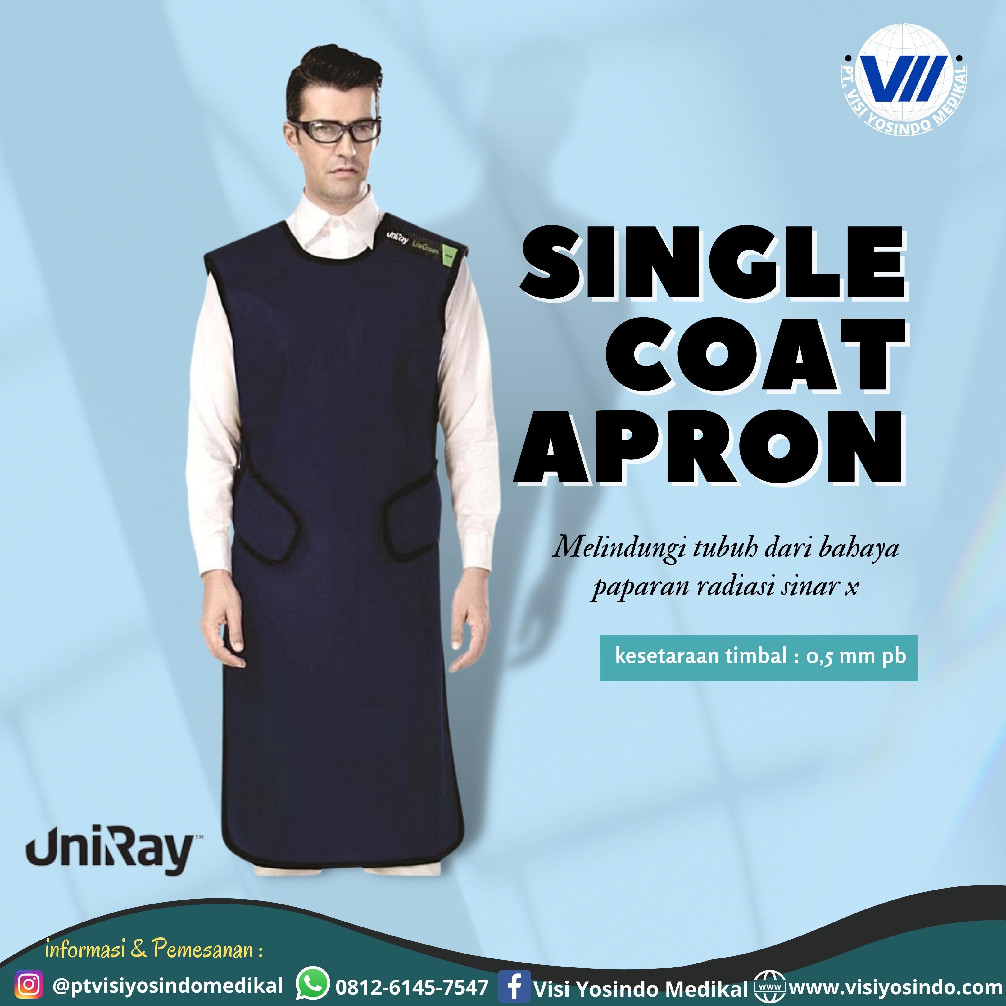 Single Coat Apron (Size Large)