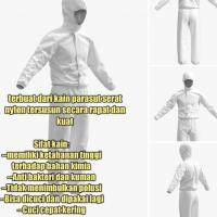 BAJU APD / baju anti virus corona/Parasut Serat Nylon