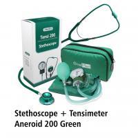 Tensimeter Aneroid 200 & Stetoscope Green