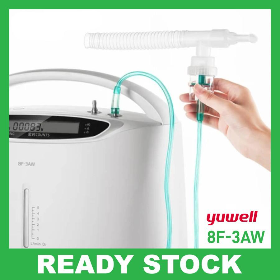 Yuwell 8F-3AW   Oxygen Concentrator   Mesin Oksigen 3-5L   95%