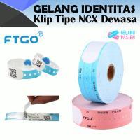 Gelang Pasien FTGO NCX - DIRECT THERMAL