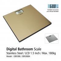 Timbangan Badan Digital EB-9388 Stainless Steel OneMed