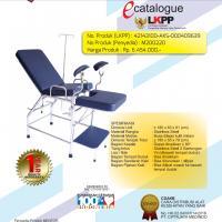 MENTOR Gynaecology Bed Chair / Meja Kursi Ginekologi Stainless Steel GYN-01