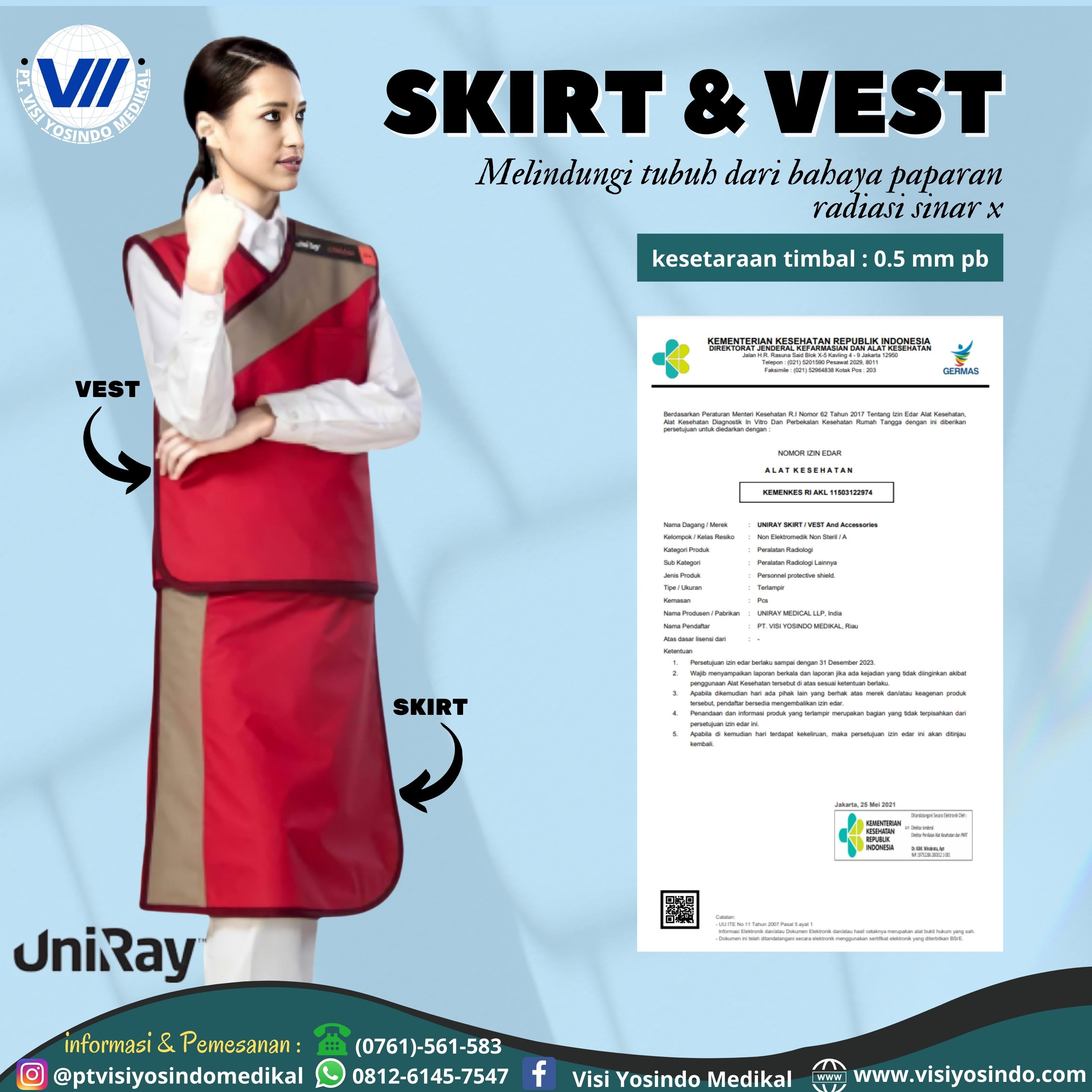 Skirt Apron (Size Medium)