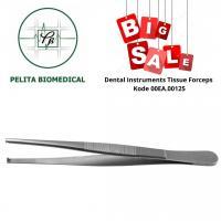 Dental Instruments Tissue Forceps Kode 00EA.00125