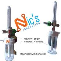 Flowmeter With Humidfier