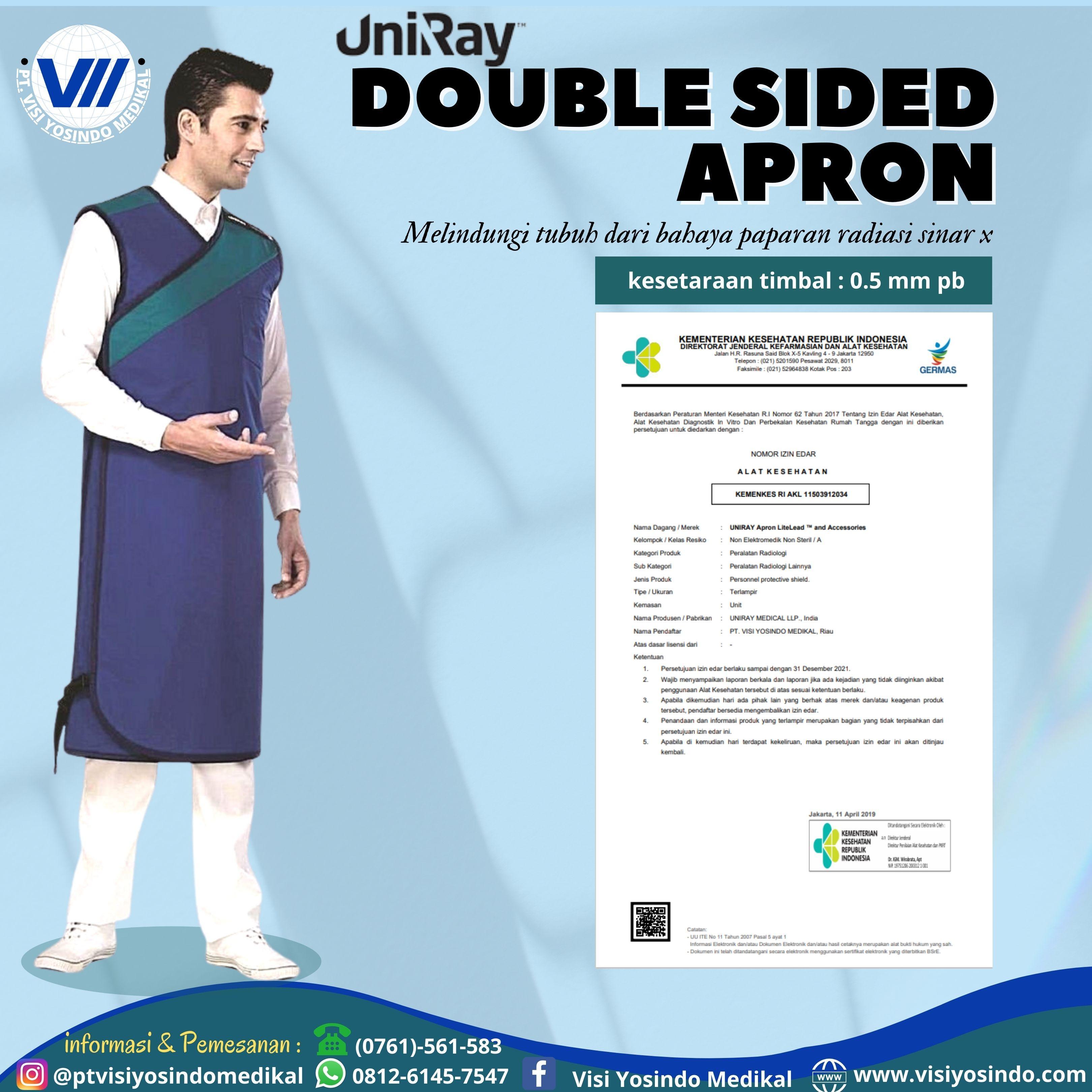 Double Sided Apron (Size Large)