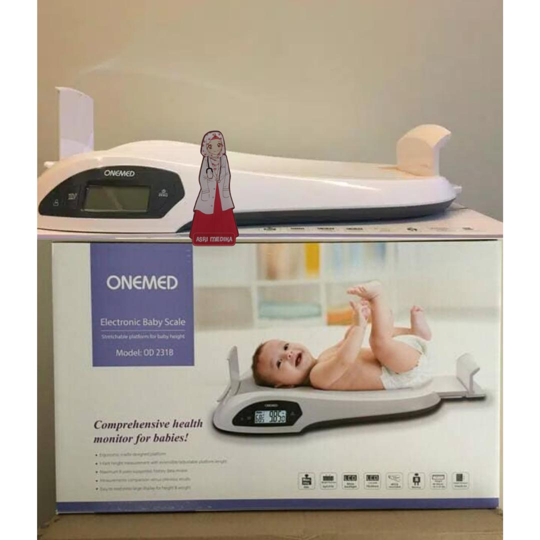 Timbangan bayi digital Onemed OD 231 B