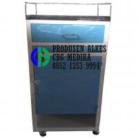 Bed side cabinet / Lemari pasien standar