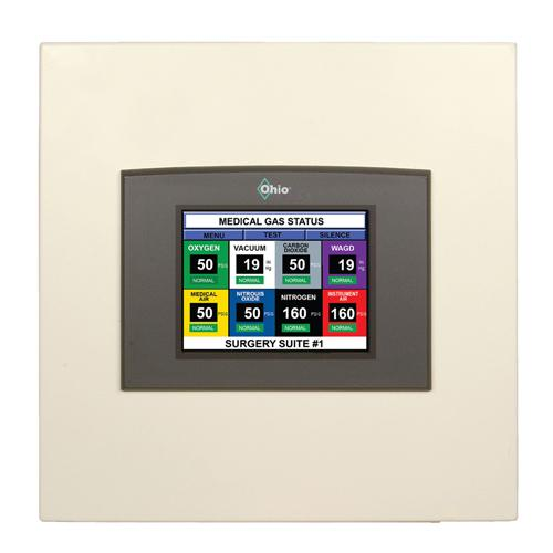 LCD Area Alarm 3 Gas