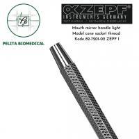 Mouth mirror handle light model cone socket thread kode 82-7201-02 ZEPF
