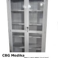 lemari obat 1 dan 2 pintu kaca