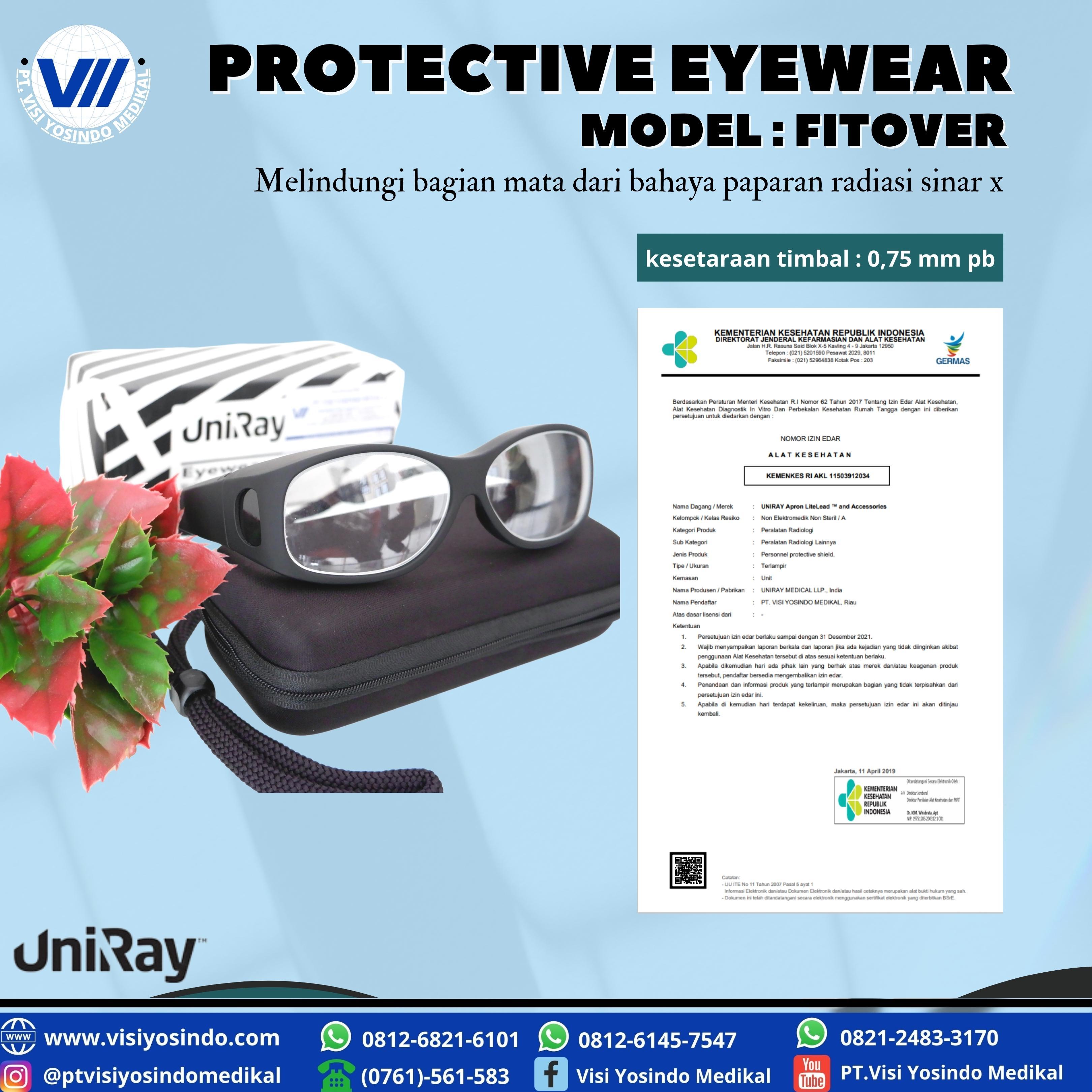 Protective Eyewear - Fitover