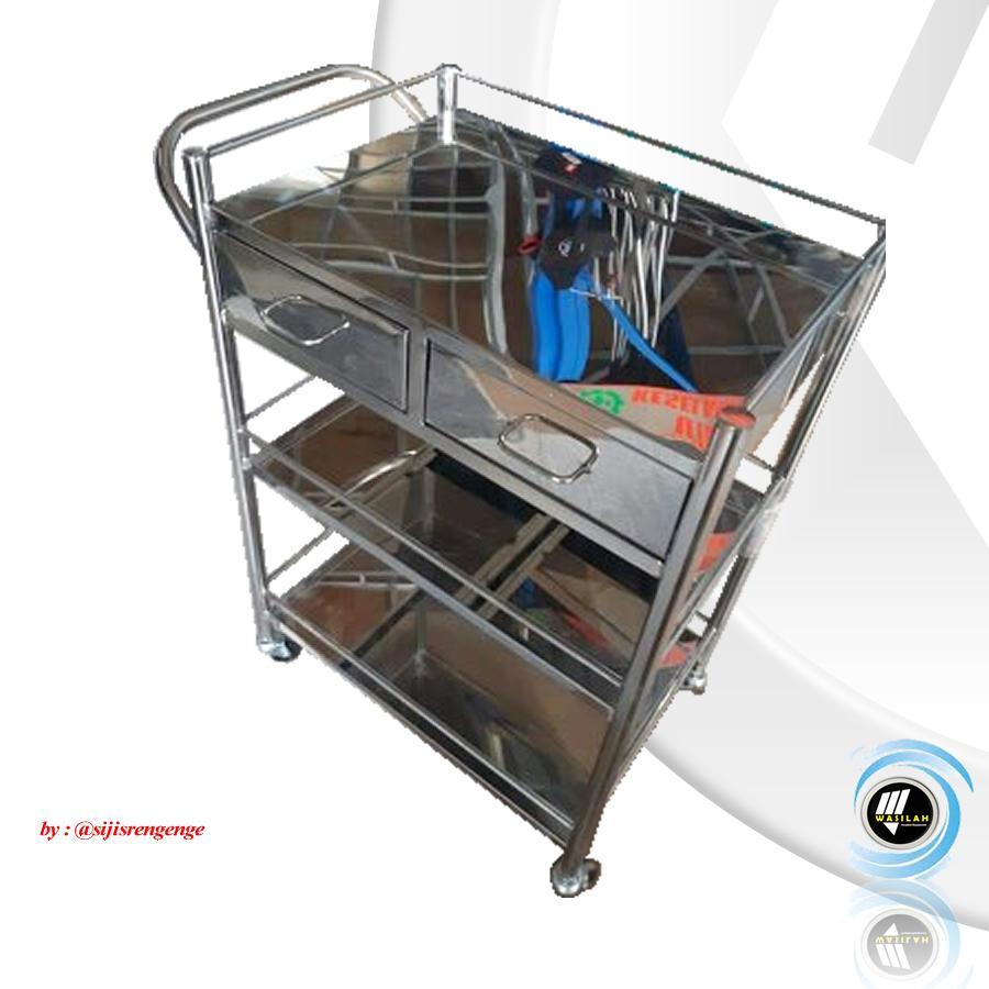 Dukungan Desain Produk Dan Jasa: Jual Trolley Instrument 3Rak Laci Dari M. Faiz ZI