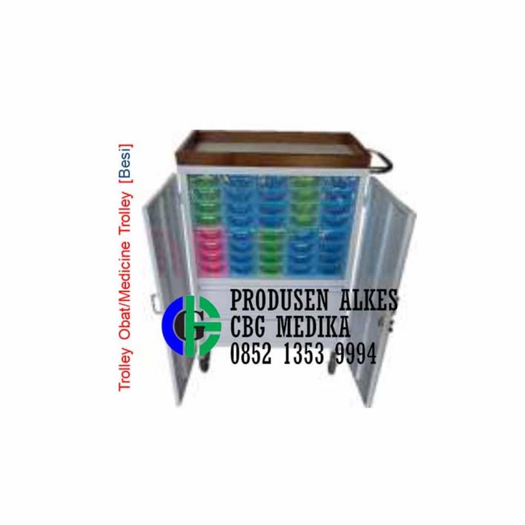 Jual Troli obat 16 susun dari CBG MEDIKA ALKES | Goalkes