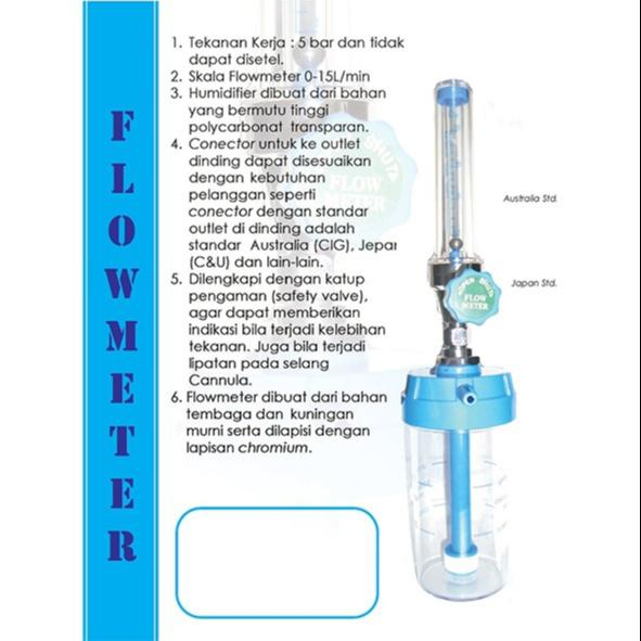 Dukungan Desain Produk Dan Jasa: Jual Flowmeter 10Lpm + Humi 135 Ml Kingbell Dari Medika